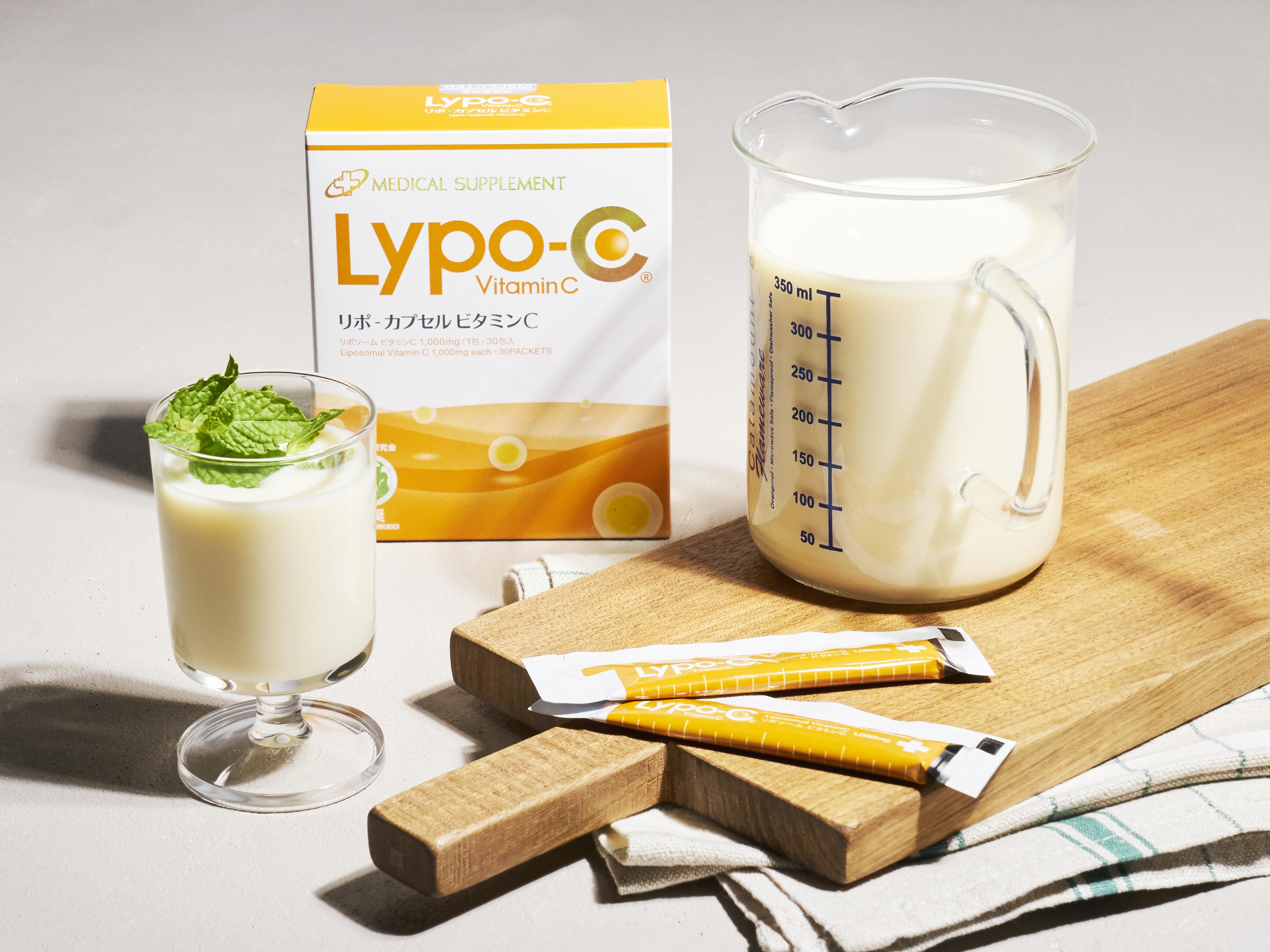 リポカプセルビタミンC 豆乳ヨーグルト