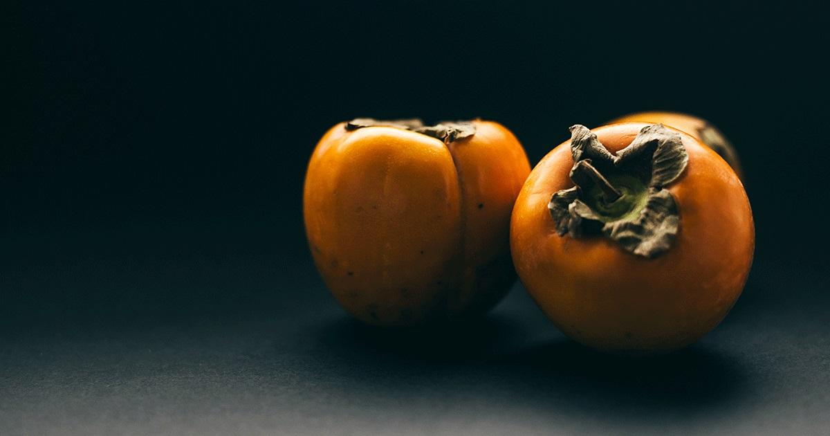 フルーツを食べる人 vol.2 柿